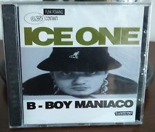 Ice One ‎– B-Boy Maniaco Cd 1994 - 1° Stampa Still Sealed Mandibola MND802