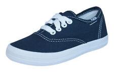 Scarpe sneakers blu in sintetico per bambini dai 2 ai 16 anni