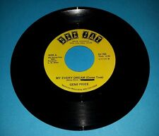 GENE PRICE - MY EVERY DREAM / LIFE OF A SINGER 45 RARE COUNTRY HAGGARD / OWENS