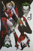 HARLEY QUINN : Villain of the Year #1 (Hot SIGNED Campbell ) DC comics  NM+ 9.8