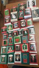Vintage Lot of 60 Hallmark Keepsake Ornament 1970s 1980s 1990s