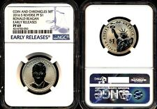 2016 NGC PF69 ER RONALD REAGAN REVERSE PROOF PRESIDENTIAL DOLLAR COIN CHRONICLES