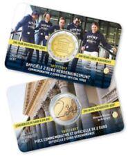 België  2017  2 euro Univ van Gent   commemo in Coincard   Vlaamse Versie !!