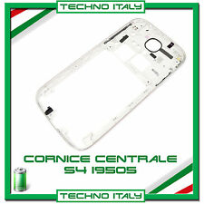 Cornice Middle Frame Samsung i9505 Bianco  FLAT Centrale Cover Telaio Galaxy S4
