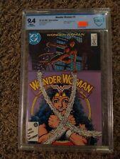 Wonder Woman #9 cbcs 9.4 1987