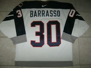 VINTAGE #30 Tom BARRASSO Team USA Off. Lic. NIKE Jersey, Size Men's 48/L