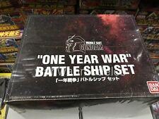 bandai Gundam 0079 9 Ship Bundle 1/2400 1/550 & 1/1200 scale  box set