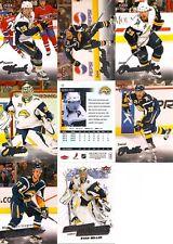 2008-09 UD Fleer Ultra Buffalo Sabres Master Team Set w/ RC's (8)