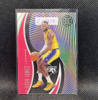 Lebron James Astounding Pink Los Angeles Lakers 2019-20 Panini Illusions #9