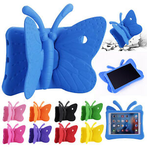 Kids Case for iPad 10.2/9.7/Air/Mini 1 2 3 4 Butterfly EVA Shockproof Foam Cover