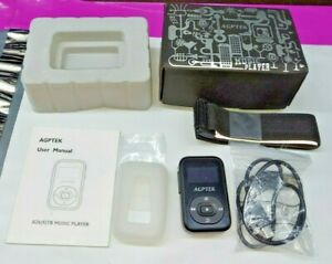 AGPTEK Clip 8GB Bluetooth MP3 Player Sweatproof Silicone Music Complete