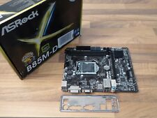 ASROCK b85m-dgs LGA 1150 Intel b85 SATA 6gb/s USB 3.0 Micro ATX