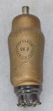 TUNGSRAM CK3 TUBE TESTS 100% KUNGS TJEMELD ORA RADIO RARE!