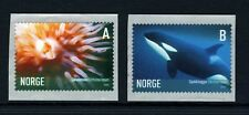 NORWAY . 2005 Marine Life Self-Adhesive (1440-41) . Mint Never Hinged