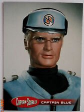 CAPTAIN SCARLET - Individual Trading Card #36, Captain Blue - Unstoppable Cards
