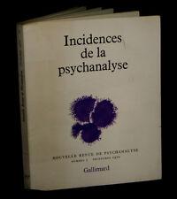 [FREUD] Incidences de la Psychanalyse.