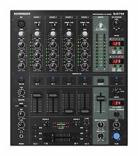 Behringer DJX750 5-Channel DJ Mixer, w/ BPM, EQ & Built in Digital Effects