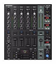 Behringer DJX750 5-Channel DJ Mixer, w/ BPM, EQ & Built in Digital Effects
