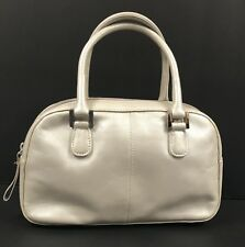 Etienne Aigner Purse Vintage Pearl White Cream Leather Handbag Small Wedding EUC