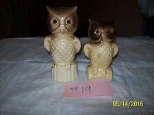 Owls Salt And Pepper Shaker
