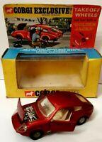 Vintage Corgi Toys 341 Mini Marcos GT 850 'Golden Jacks' (1968-70) Original box