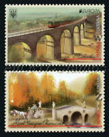 "2018 Ukraine. EUROPA CEPT ""Bridges of Ukraine""."