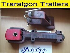 Heavy Duty Trigg Off Road Polyblock Coupling Trailer hitch 3T Rated treg A18