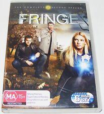FRINGE : Season 2---- (DVD, 2010, 6-Disc Set)