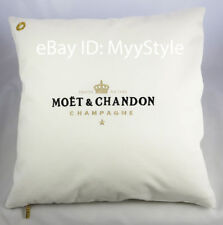 MOET CHANDON ICE IMPERIAL CHAMPAGNE OUTDOOR CUSHION COVER WHITE- GOLD / SET OF 4