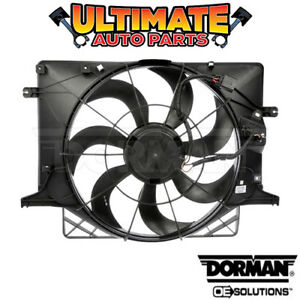 Radiator Cooling Fan (2.0L Turbo) for 10-12 Hyundai Genesis (Coupe)