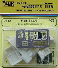 CMK 1/72 F-86 Sabre Interior Set for Academy # 7112