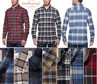 Men's Weatherproof Original Vintage Long Sleeve Flannel Plaid Shirt NWT