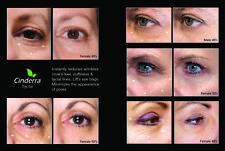 Cinderra Eye Gel instantly reduces wrinkles crow's feet puffiness & facial lines