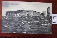 Postkarte Ansichtskarte Niedersachsen Lithografie Brocken 1142