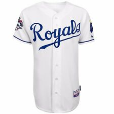 2015 Kansas City Royals Authentic On-field World Series Cool Base Jersey