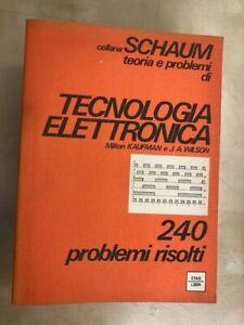Collana Schaum - Tecnologia Elettronica - Kaufman - ETAS - 1983