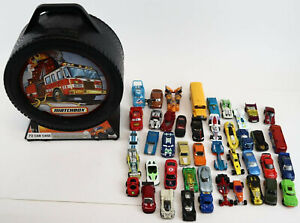 2009 Matchbox 72- Car Storage Case With Easy Grip Carrying Handle 20065 + Cars