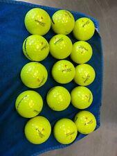 New listing Used golf balls Titleist Pro V1X Yellow 15 AAA