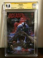 2019 DCeased #1 Variant Cover A Signed by Clayton Crain 9.8 CGC
