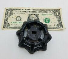 1PC Vintage Industrial Metal Outdoor Black Faucet Hose Handle Knob Steampunk Art