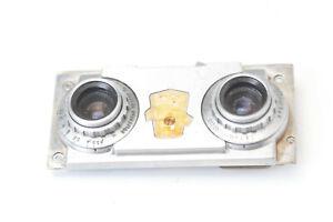 Wollensak Revere 35mm f3.5 stereo lens setup for parts N5918