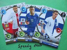 Road to UEFA EURO 2016 all 18 tifosi Favourites completamente ADRENALYN PANINI FRANCE