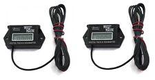 (2) Tiny Tach TT2B Digital Hour Meter / Tachometers Briggs Stratton Kohler Honda