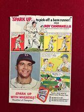 Weitere Ballsportarten Baseball & Softball 1954 Wheaties Roy Campanella Ad Seite ~ Brooklyn Dodgers