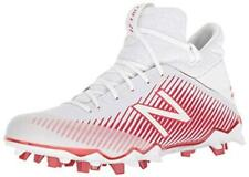 New Balance FreezeLx Cleat - Men's Lacrosse, White/Red, Size 12.0 5Hq5