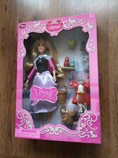 Disney Store Sleeping Beauty Aurora Singing Doll Deluxe Set
