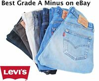 VINTAGE LEVI LEVIS 501 JEANS GRADE A MINUS Men's 501s W30 W32 W34 W36 W38 W40