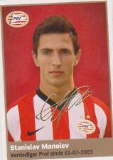 AH 2009/2010 Panini Like sticker 144 Stanislav Manolev PSV Eindhoven