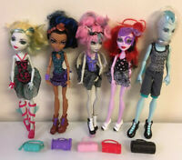 Monster High Dance Class 5 Doll Pack Lot Gil Rochelle Robecca Lagoona & Operetta
