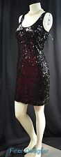 Davids Bridal DRESS SEQUIN cocktail Sexy Evening Dress stretch LBD Size 10 M NEW